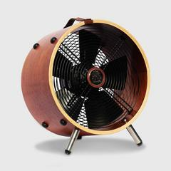 "VENZ ""Wooden Fan In Style"" 12 Inch - Mahogany"