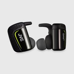 JVC 耳机 HA-ET900BT-B Bluetooth蓝牙 无线 (黑色) 6.5克 x2