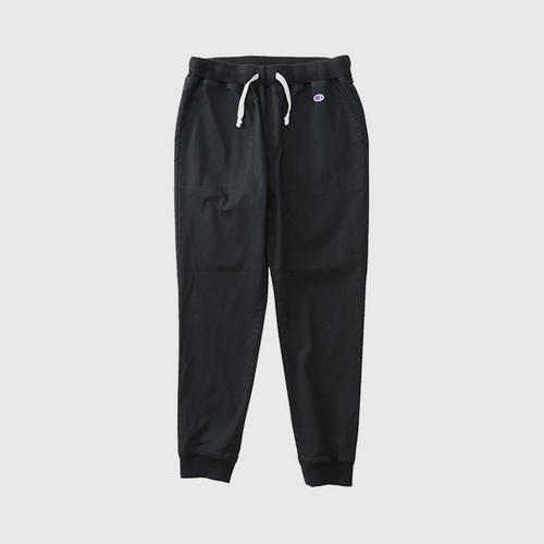 CHAMPION Men Campus Long Pants With Rib Cuff Navy Size M