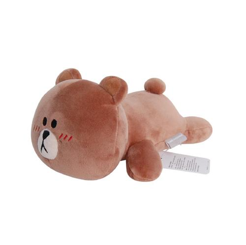 LINE FRIENDS Brown Lying 14""
