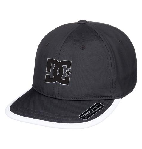 DC SHOES Crankers Snapback Hat  BLACK-Free Size