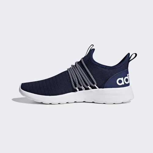 ADIDASLITE RACER ADAPT SHOES BLUE- SIZE 8