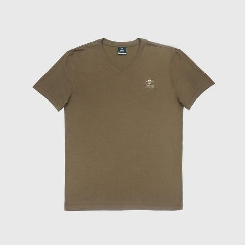 "Double Goose ""Thai Tone Collection"" V neck Solid T-Shirt - Samrit color Size S"