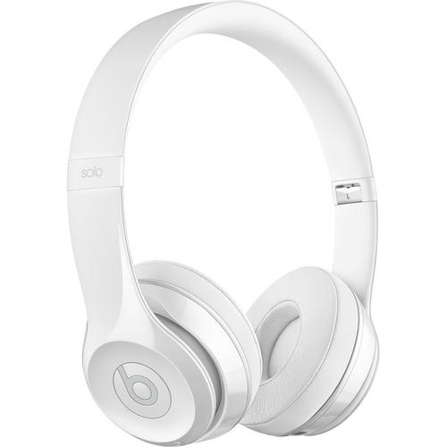 BEATS Solo3 Wireless  Headphones - Gloss White