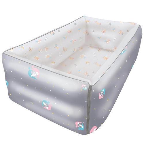 Nai-B Baby Inflatable Versatile Bed (S) Gray