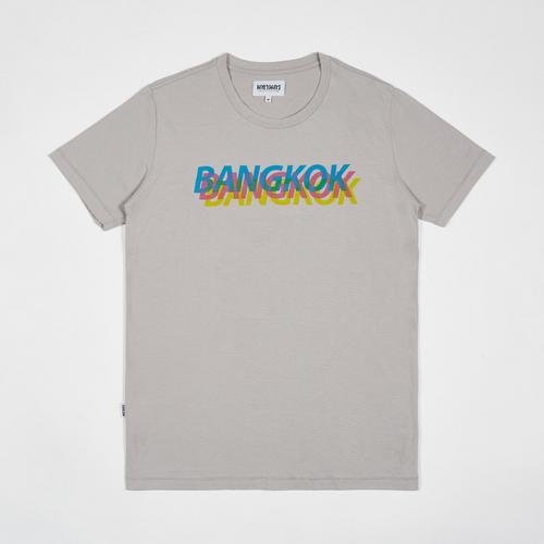 MAHANAKHON Bangkok Colourful T恤 - XL码 (灰色)