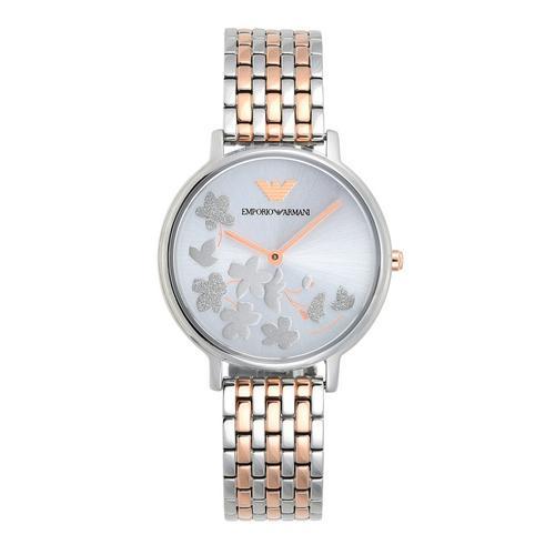 EMPORIO ARMANI Kappa Analog Two Tone Stainless Steel Watch 32mm