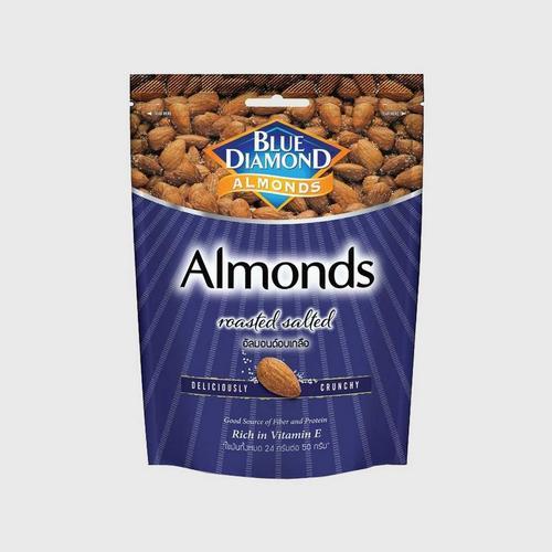 BLUE DIAMOND Roasted Salted Almonds 400g.