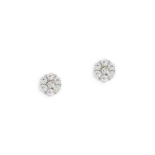 GROSSE Tresor pierced earrings(925 silver)