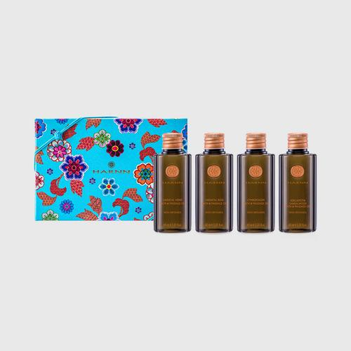 HARNN Harmony Bath & Massage Oil Set (4x60ml)