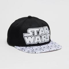 STAR WARS Teen Men Cap Stormtrooper-STAR WARS logo-Size M