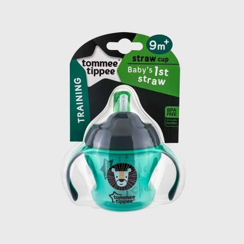 TOMMEE TIPPEE  First Straw Cup - Green