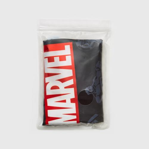 MARVEL Marvel logo on Black Luggage cover 24""