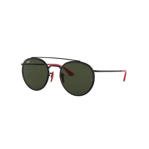RAYBAN Black Metal Sunglasses 0RB3647MF0283151