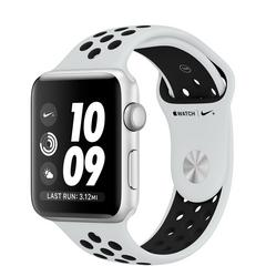 APPLE WATCH Series3 GPS+Cellular Nike+ 42 mm Silver Aluminum Case with Pure Platinum/Black Nike Sport Band