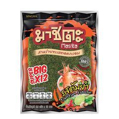 Masita Fried Super Big Seaweed 81.6 g - Tom Yam Flavor
