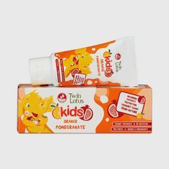 双莲优乳益齿儿童牙膏50克 (香橙&石榴)