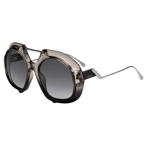 FENDI FF 0316/S Crystal Black Optyl Metal 55mm