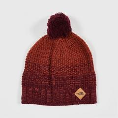 The North Face ANTLERS BEANIE - FIG/HENNA