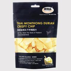 泰国品 泰国金枕头干炸榴莲片 65 克