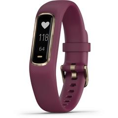 GARMIN Vívosmart® 4 Rose Gold with Merlot Band (Regular)