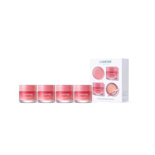 兰芝 LANEIGE 夜间保湿修护唇膜 Berry Gift Set (4 x 20g)
