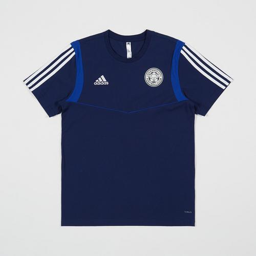 Leicester City Football Club Dark Blue Training Tee 2019 - 2020 Size M