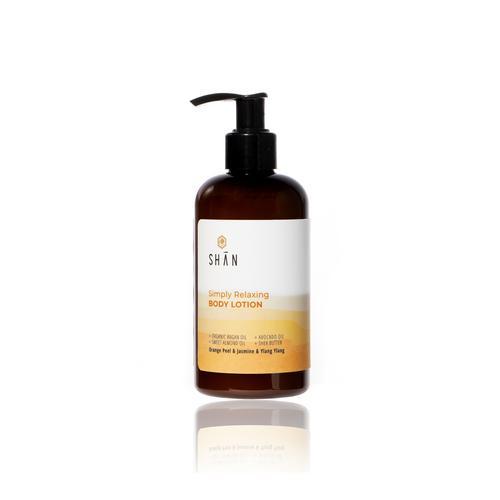 SHAN ORGANIC Simply Relaxing Body lotion size 260 ml.