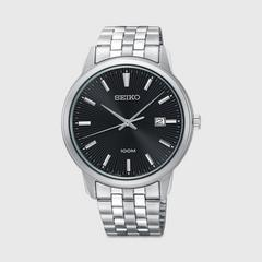 SEIKO Quartz 40.9mm (Black Dial) SUR261P