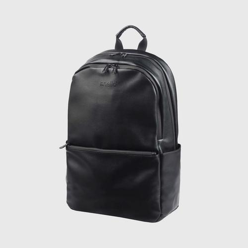 ANELLO OS-S076-ALTON Round Reg. Backpack-BLACK