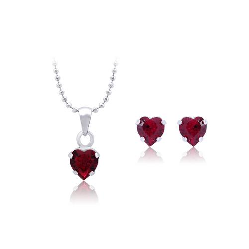 12VICTORY Mini Heart Red Megma Set