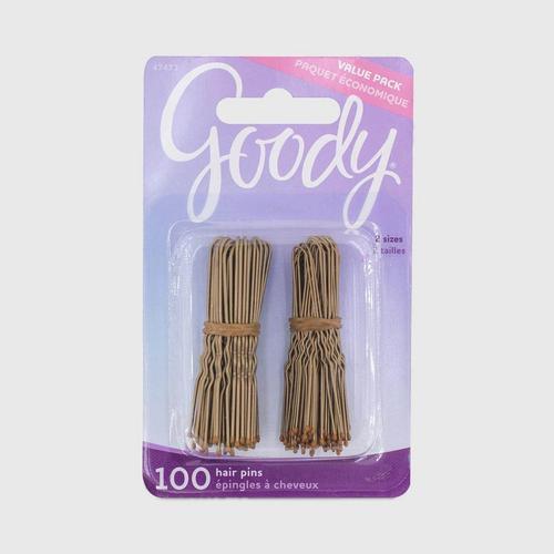 GOODY Hair Pins, Gold 100CT