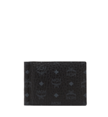MCM Claus Money Clip in Visetos Original - Black