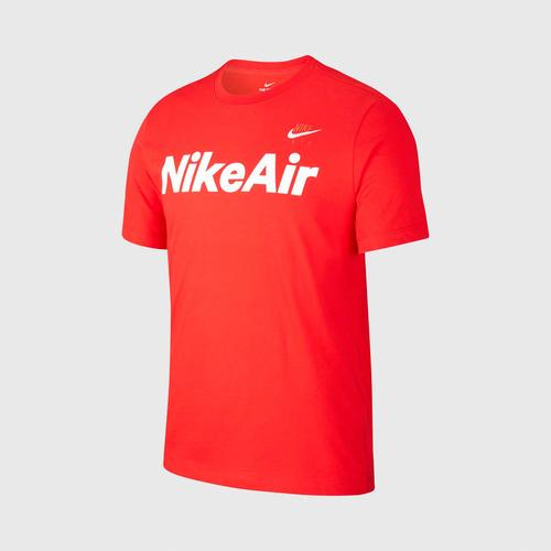 NIKE NSW AIR SS TEE-M size L UNIVERSITY RED/WHITE US