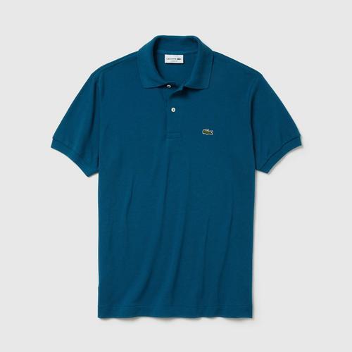 LACOSTE Classic Fit L.12.12 Polo Shirt (Blue) - Size 4