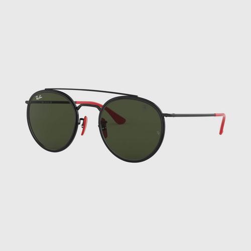 RAY-BAN Black Metal Sunglasses 0RB3647MF0283151