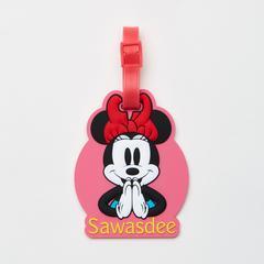 Disney Minnie Mouse Sawasdee Luggage tag