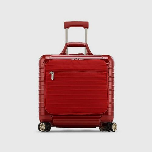 RIMOWA SALSA DELUXE HYBRID BUSINESS MULTIWHEEL® 40 SPINNER LUGGAGE - RED