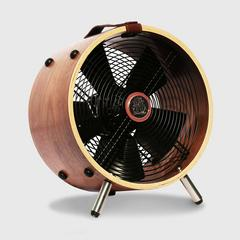"VENZ ""Wooden Fan In Style"" 12 Inch - Walnut"