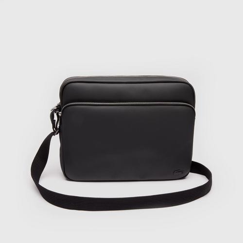 LACOSTE Men'S Classic Petit Piqué Airline Bag - Black