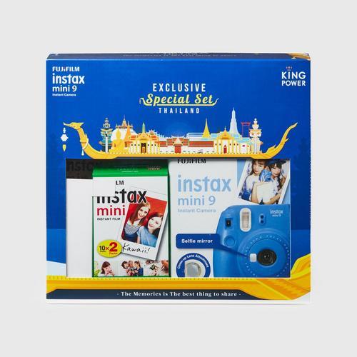 Fujifilm Instax Mini9 Exclusive Special Set - Cobolt Blue