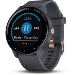 GARMIN vívoactive® 3 Music Granite Blue/Rose Gold