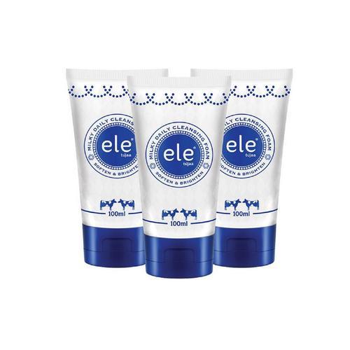 ELE TUJAA® MILKY DAILY CLEANSING FOAM (3x100ml)