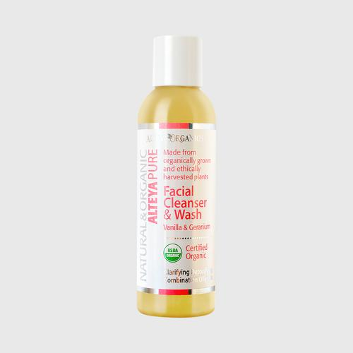 Alteya 有机卸妆乳 & Wash - 香草 & 天竺葵 150 ml