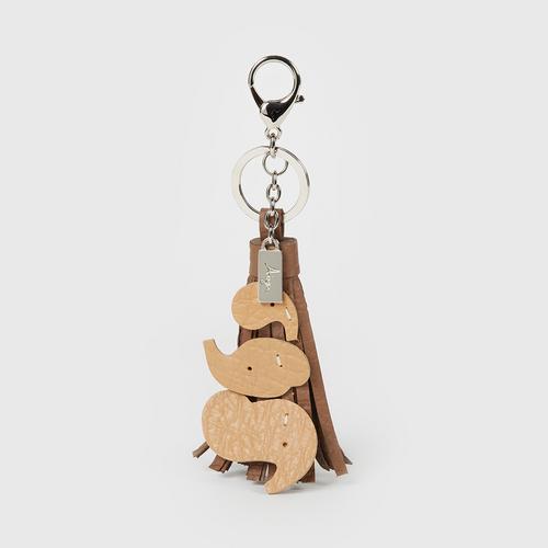 AIYA  Charming Key Chain - Brown