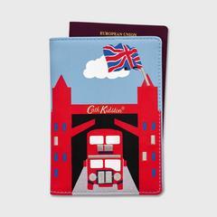 Cath Kidston Novelty London Passport Holder Small London Map Stone