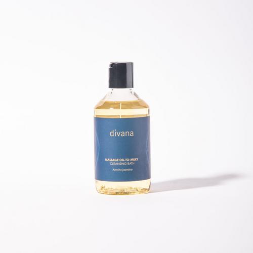 Divana Massage Oil To Milky Cleansing Bath Amarita Jasmine ImmortalRejuvenate Scent 250 Ml.