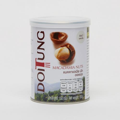 DoiTung Macadamia Nuts (Salt)-Can  150 g.