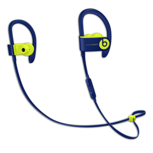 BEATS Powerbeats3 Wireless Earphones Beats Pop Collection - Pop Blue