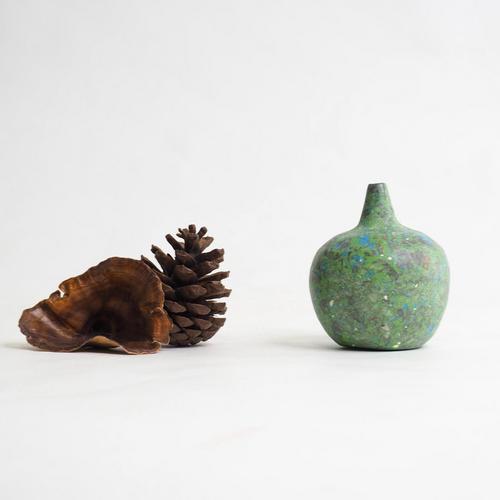 103 Paper mini vase Size XXL green